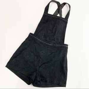 Divided by H&M Faux Suede Overalls